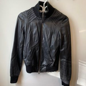 MACKAGE exclusively for Aritzia Leather Jacket